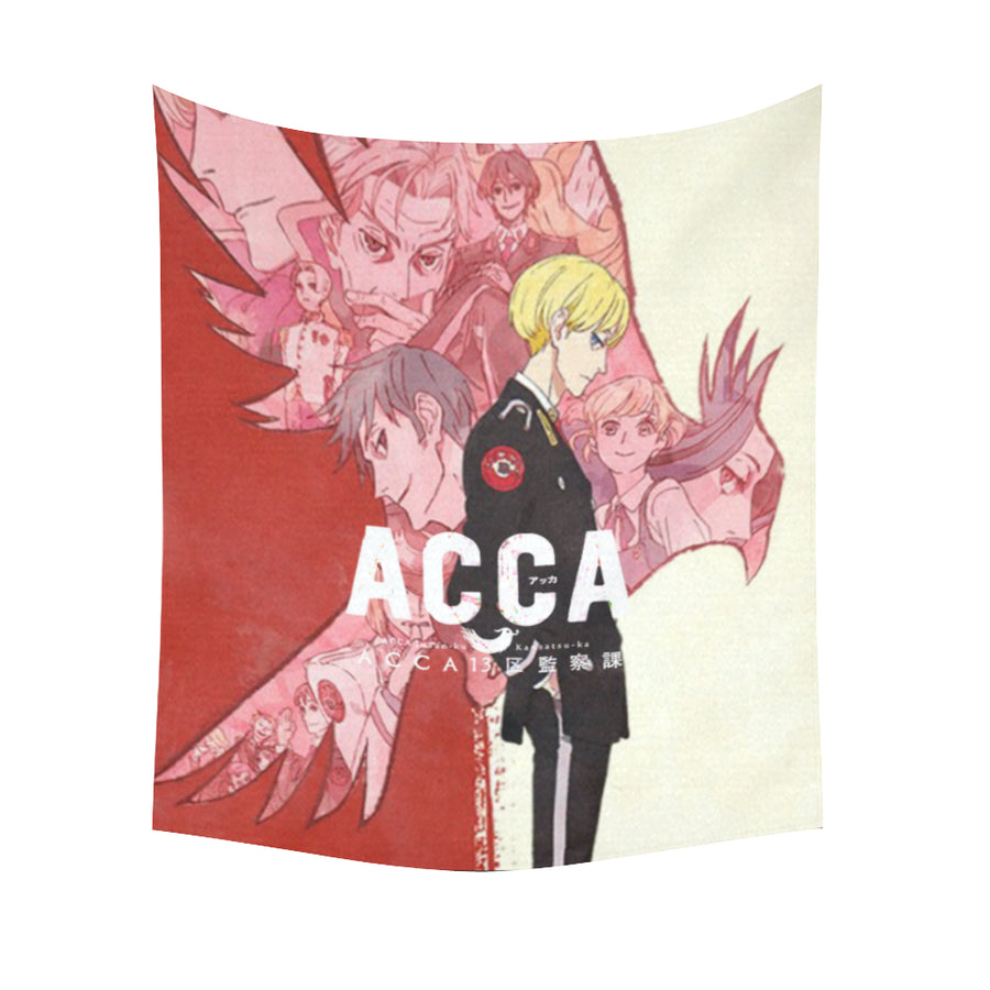 ACCA: 13-Territory Inspection Dept. - Wall Tapestry-MyStorify