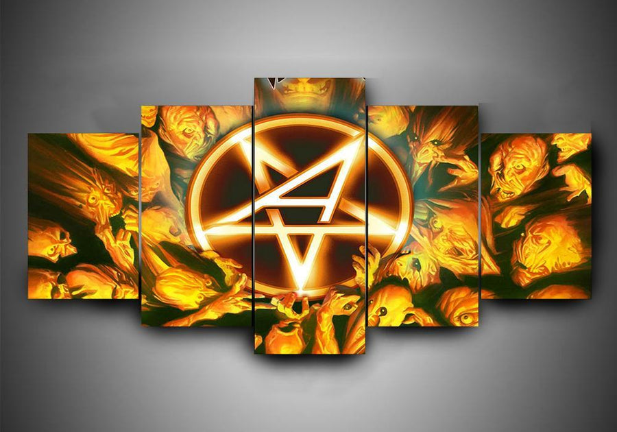 Anthrax - 5-Piece Canvas Wall Art