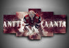 Arizona Coyotes - Antii Raanta - 5-Piece Canvas Wall Art - MyStorify