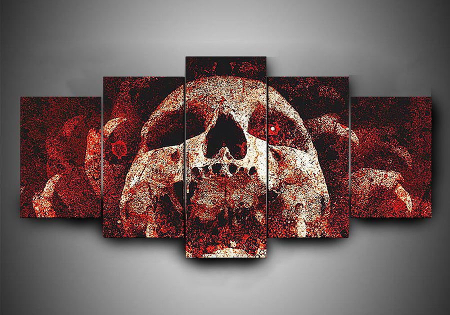 As I Lay Dying (3 Styles) - 5-Piece Canvas Wall Art