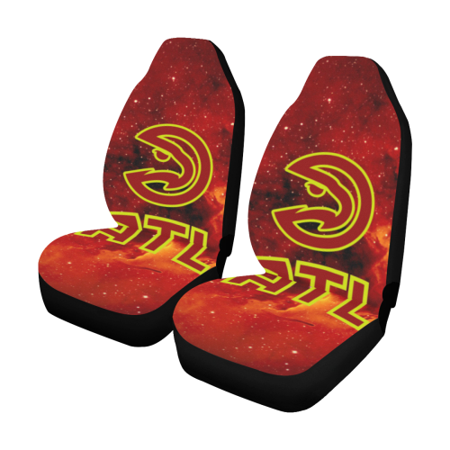 Atlanta Hawks #2 - Car Seat Covers (2pc Set)