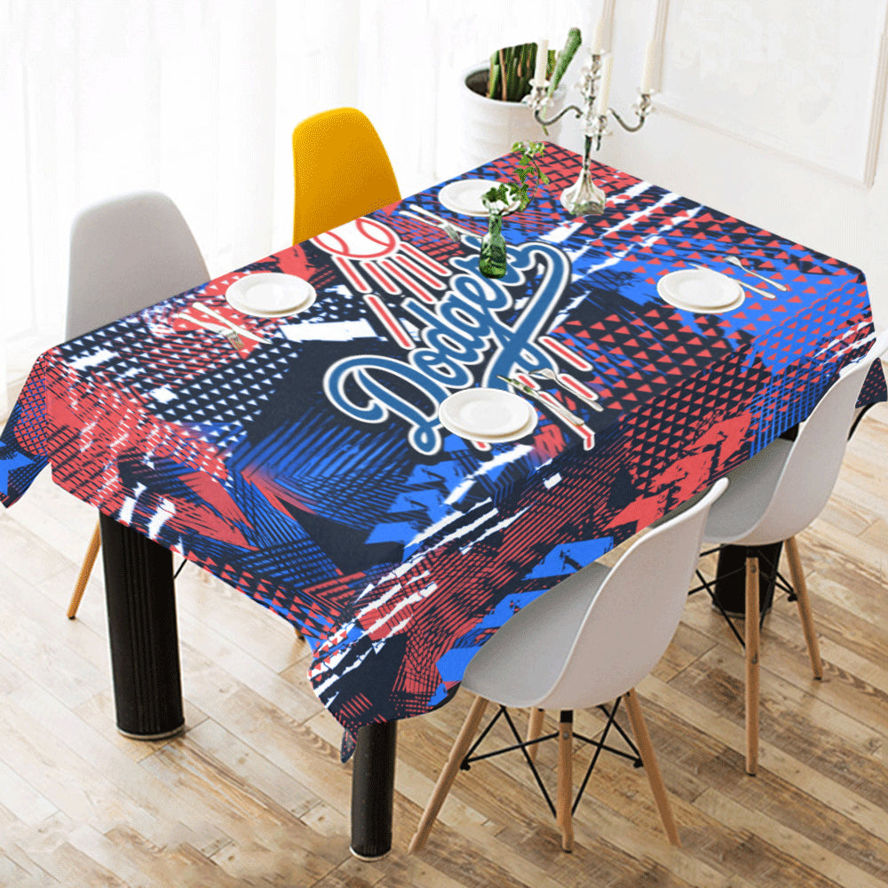 Beau Los Angeles Dodgers   Tablecloth