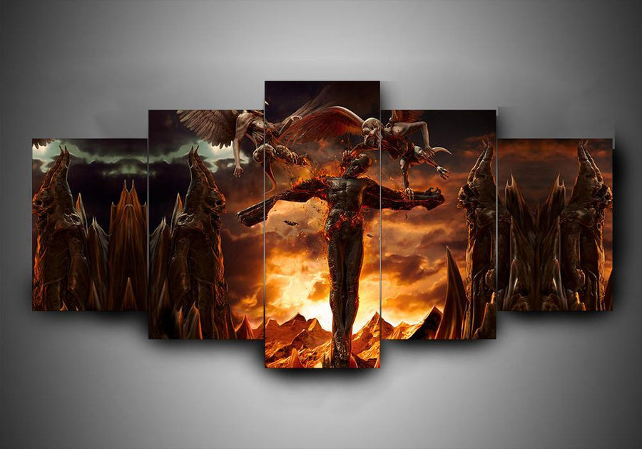 Black Veil Brides - 5-Piece Canvas Wall Art