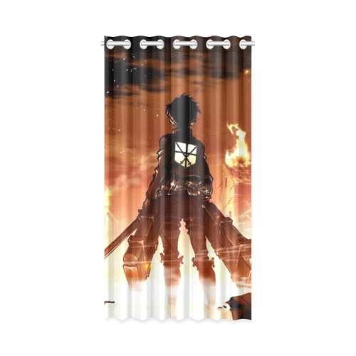 Attack On Titan #1 - Window Curtain