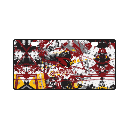 Arizona Cardinals - License Plate