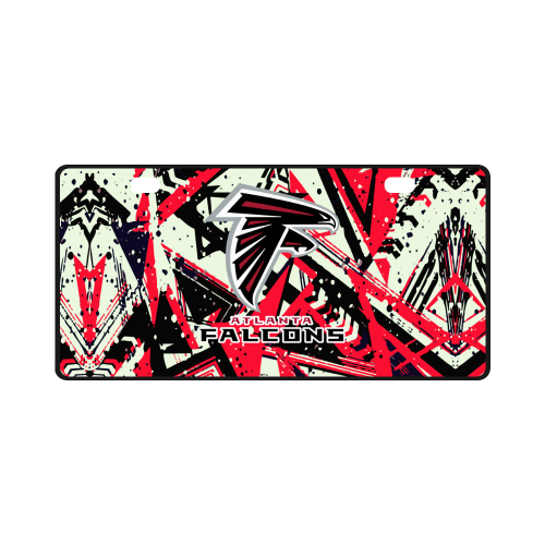 Atlanta Falcons - License Plate