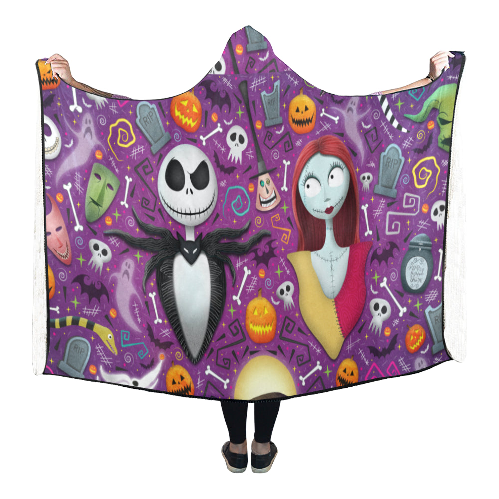 The Nightmare Before Christmas #2 - Hooded Blanket - MyStorify
