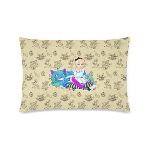 Alice In Wonderland #1 - Pillow Cover-MyStorify