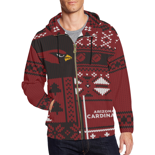 Arizona Cardinals - Ugly Christmas Sweatshirt, Hoodie, Zip Up Hoodie