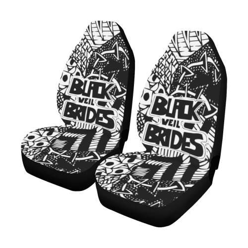 Black Veil Brides #1 - Car Seat Covers (2pc Set)