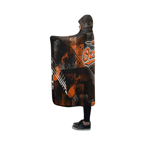 Baltimore Orioles - Hooded Blanket