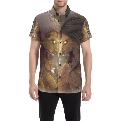 Attack on Titan #2 - Men's Short Sleeve Shirt