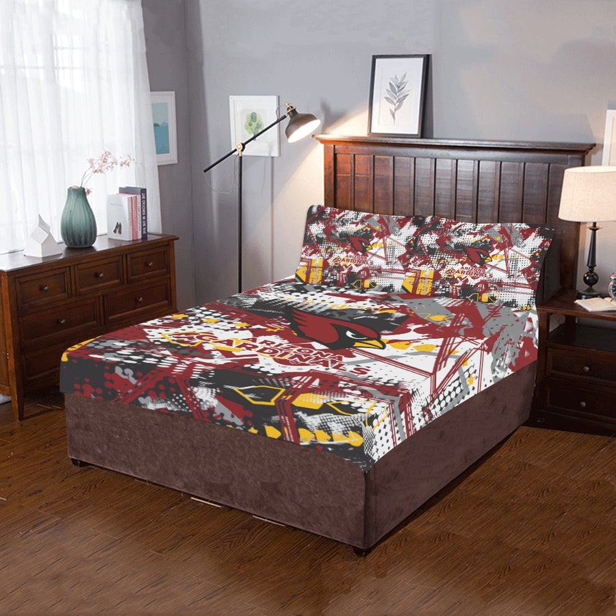 Arizona Cardinals - Bedding Set (Duvet Cover & Pillowcases)-MyStorify