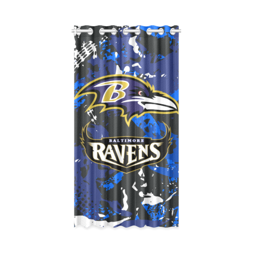 Baltimore Ravens - Window Curtain