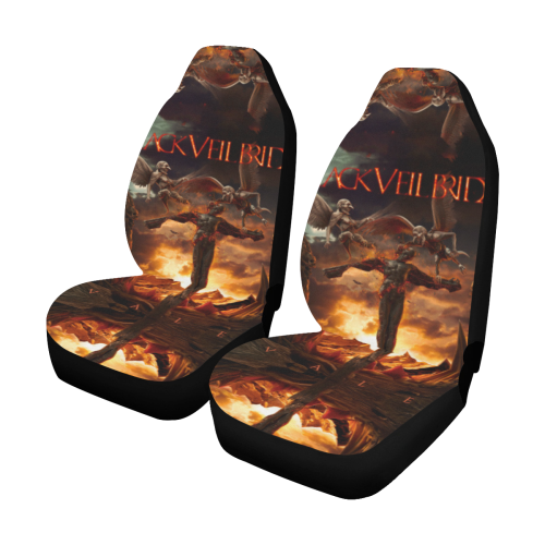 Black Veil Brides #2 - Car Seat Covers (2pc Set)