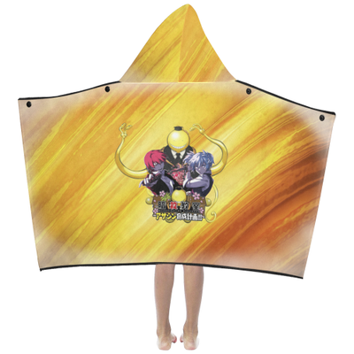 Assassination Classroom - Kids' Hooded Bath Towels-MyStorify