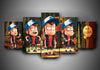 Gravity Falls (3 Styles) - 5-Piece Canvas Wall Art-MyStorify