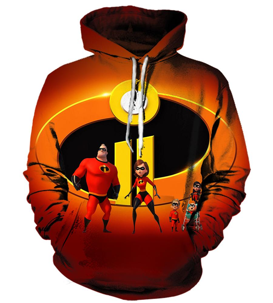 The Incredibles (2 Styles) - 3D Hoodie, T shirt, Sweatshirt, Tank Top - MyStorify