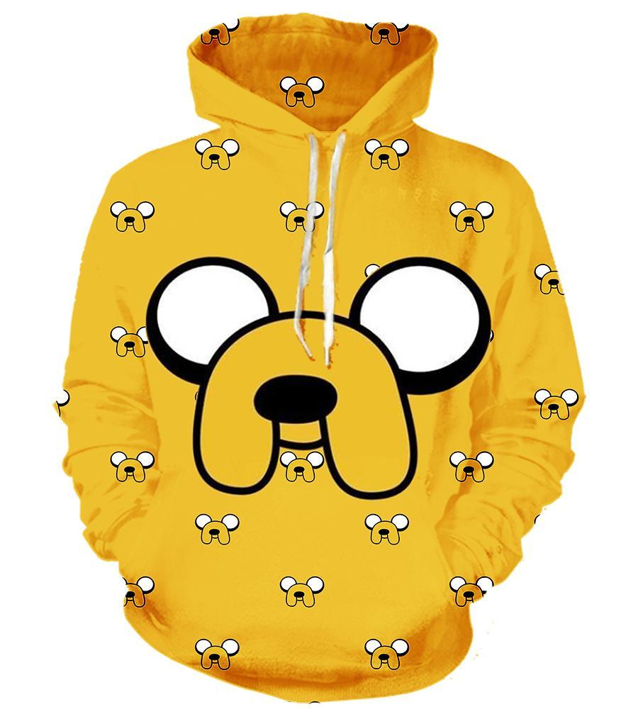 Adventure Time (2 Styles) #3 - 3D Hoodie, T shirt, Sweatshirt, Tank Top - MyStorify
