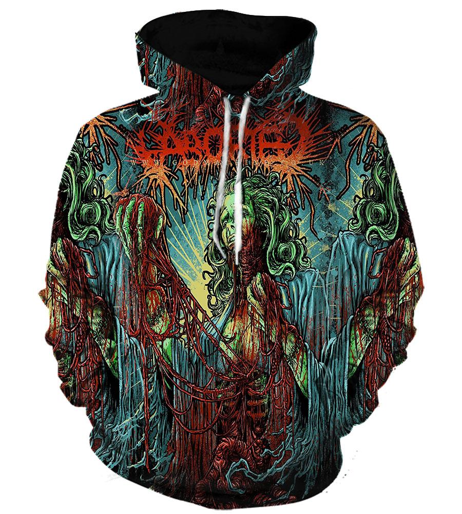 Aborted (2 Styles) #1 - 3D Hoodie, T shirt, Sweatshirt, Tank Top - MyStorify