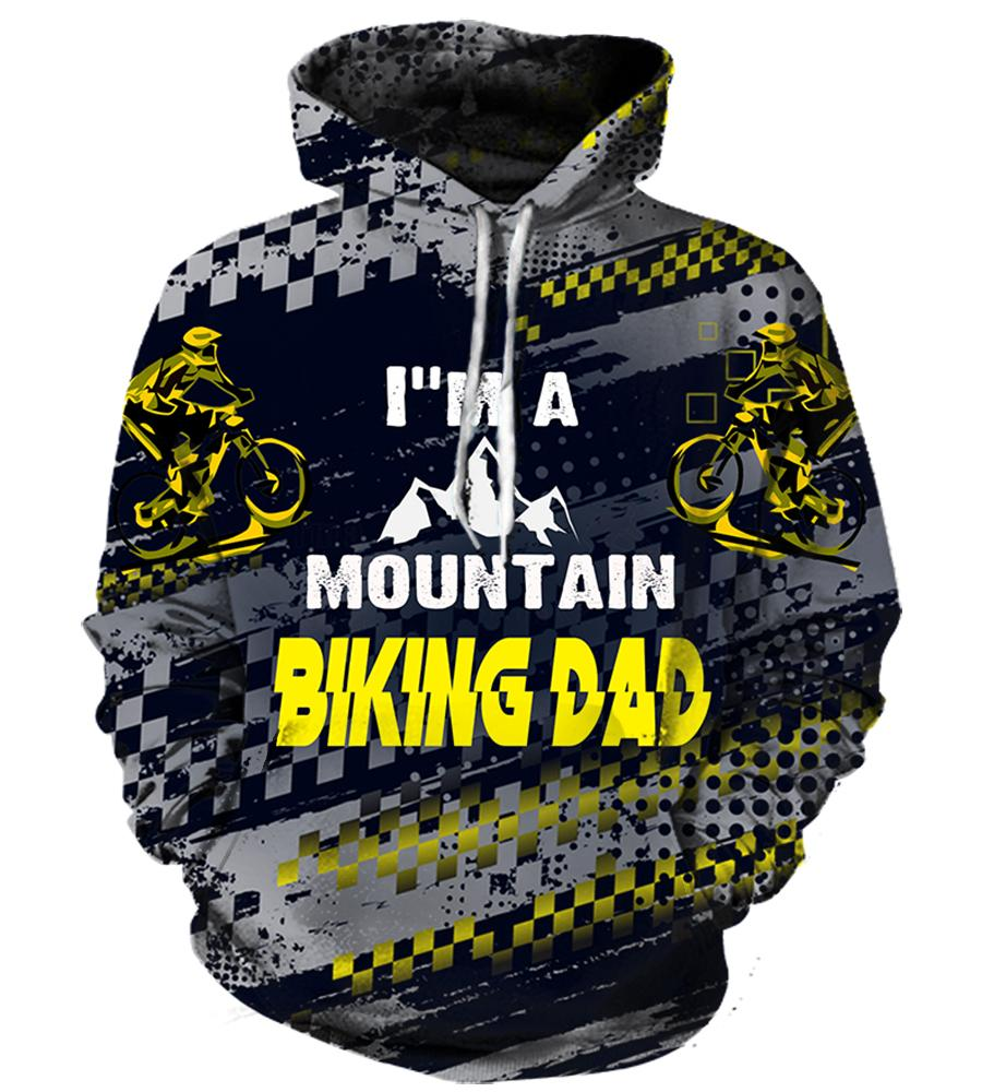 Bicycling (2 Styles) #2 - 3D Hoodie, T shirt, Sweatshirt, Tank Top