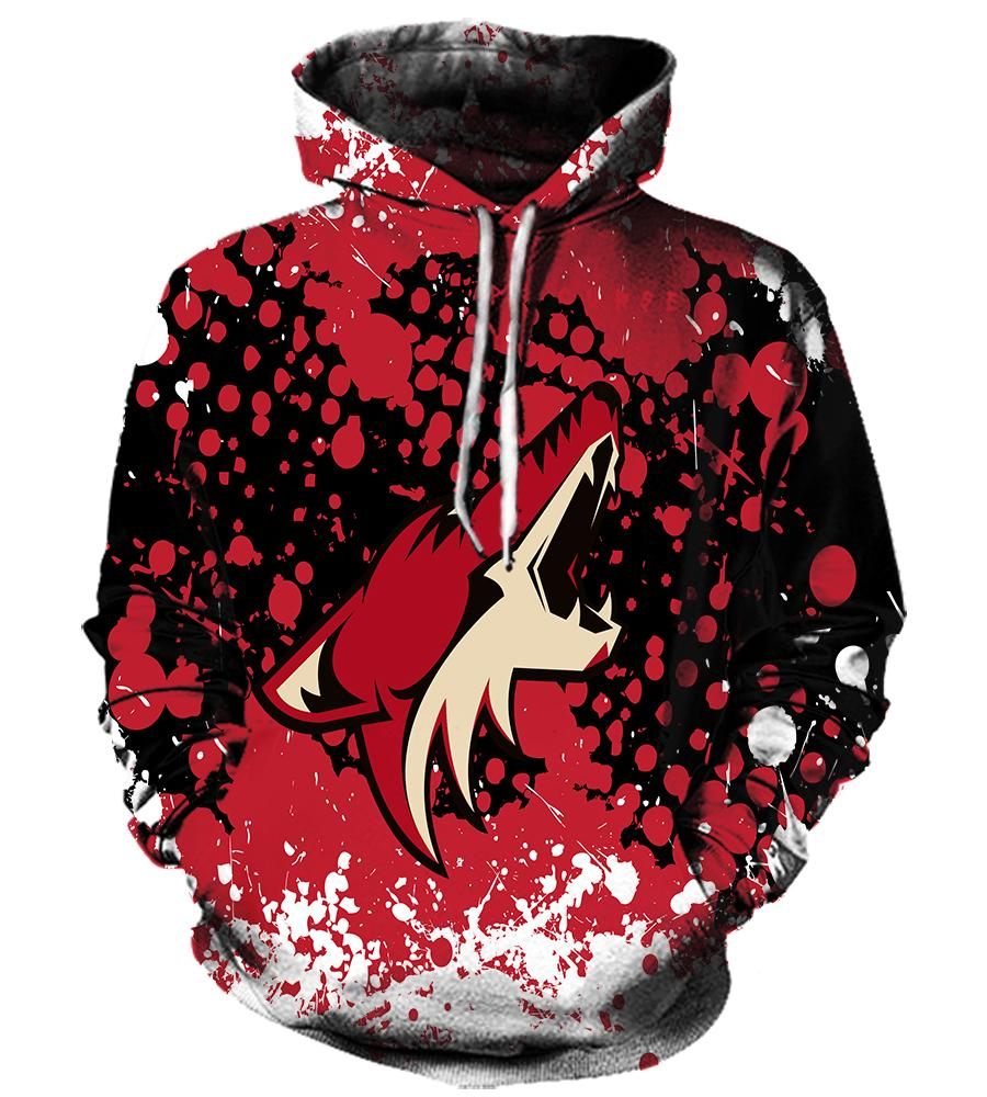 Arizona Coyotes - 3D Hoodie, T shirt, Sweatshirt, Tank Top - MyStorify