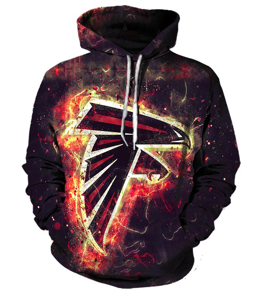 Atlanta Falcons - 3D Hoodie, T shirt, Sweatshirt, Tank Top