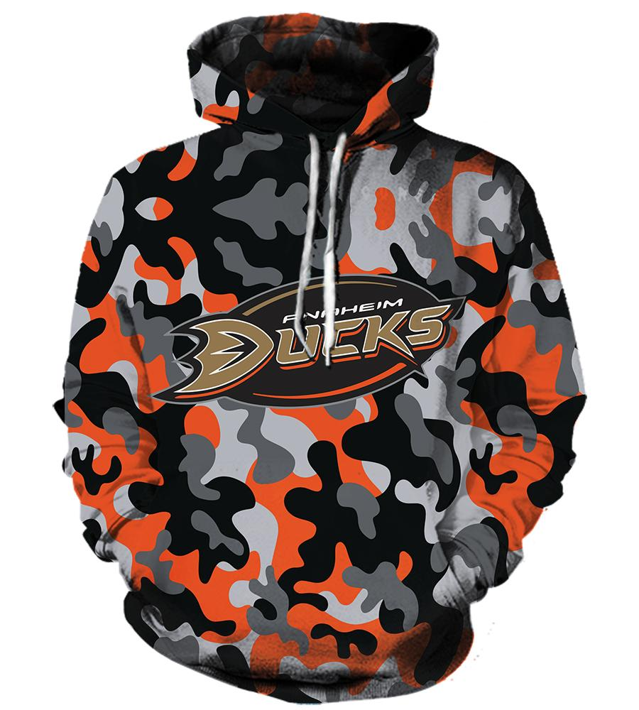 Anaheim Ducks #2 - 3D Hoodie, T shirt, Sweatshirt, Tank Top