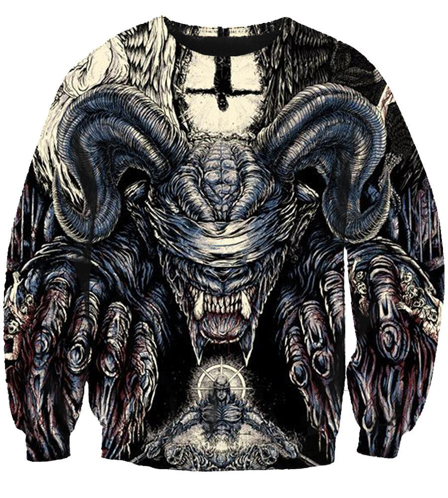 Behemoth #2 - 3D Hoodie, T shirt, Sweatshirt, Tank Top