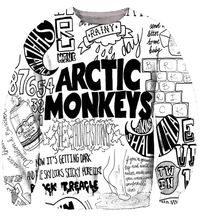 Arctic Monkeys (2 Styles) - 3D Hoodie, T shirt, Sweatshirt, Tank Top - MyStorify