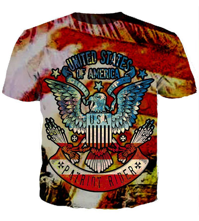 All Over Print Hoodie/Tee/Sweatshirt/Tank Top - American Patriot - United State of America - TheSevenShop