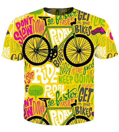 Bicycling (2 Styles) #1 - 3D Hoodie, T shirt, Sweatshirt, Tank Top - MyStorify