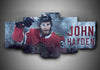 Chicago Blackhawks - John Hayden - 5-Piece Canvas Wall Art - MyStorify