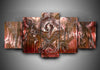 Kreator - 5-Piece Canvas Wall Art - MyStorify