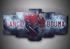 Chicago Blackhawks - Lance Bouma - 5-Piece Canvas Wall Art - MyStorify