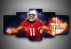 Arizona Cardinals - Larry Fitzrald (2 Styles) - 5-Piece Canvas Wall Art - MyStorify