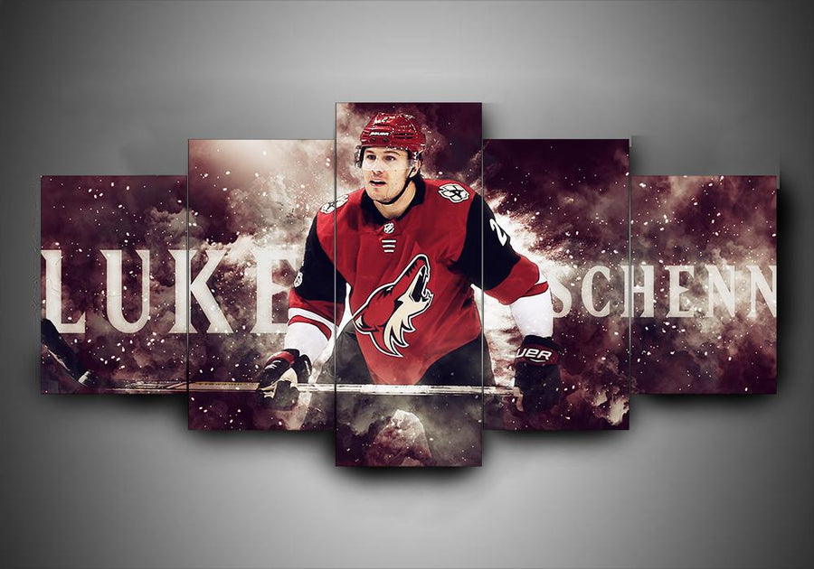Arizona Coyotes - Luke Schenn - 5-Piece Canvas Wall Art - MyStorify