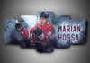 Chicago Blackhawks - Márian Hossa - 5-Piece Canvas Wall Art - MyStorify
