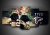 Atlanta Falcons - Matt Ryan - 5-Piece Canvas Wall Art-MyStorify