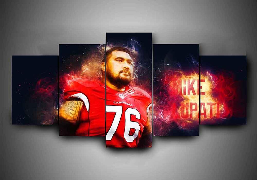 Arizona Cardinals - Mike Lupati - 5-Piece Canvas Wall Art - MyStorify