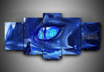 Game of Thrones (7 Styles) #2 - 5-Piece Canvas Wall Art-MyStorify