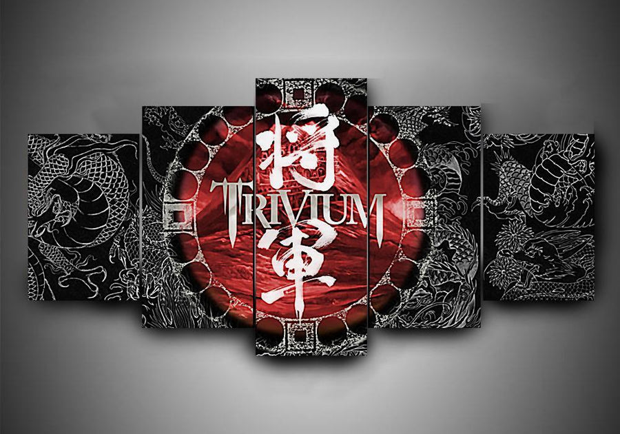 Trivium (4 Styles) - 5-Piece Canvas Wall Art - MyStorify