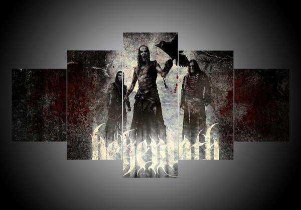 Behemoth #1 - 5-Piece Canvas Wall Art