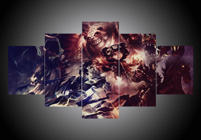 5-Piece Canvas Wall Art - Diablo #1 - TheSevenShop