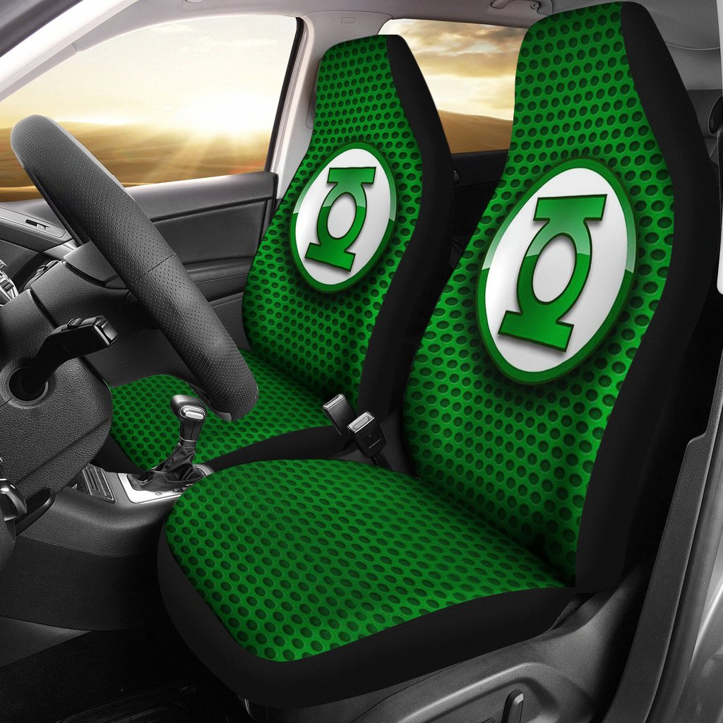 Seat Covers Green Lantern Car Bed
