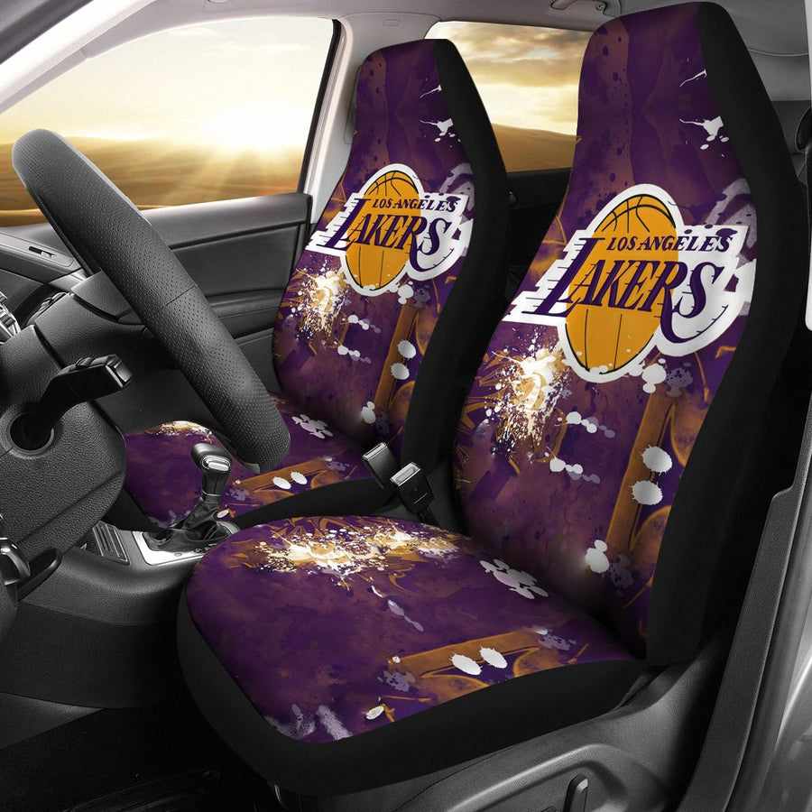 Los Angeles Lakers  1 - Car Seat Covers - MyStorify 8118f2556