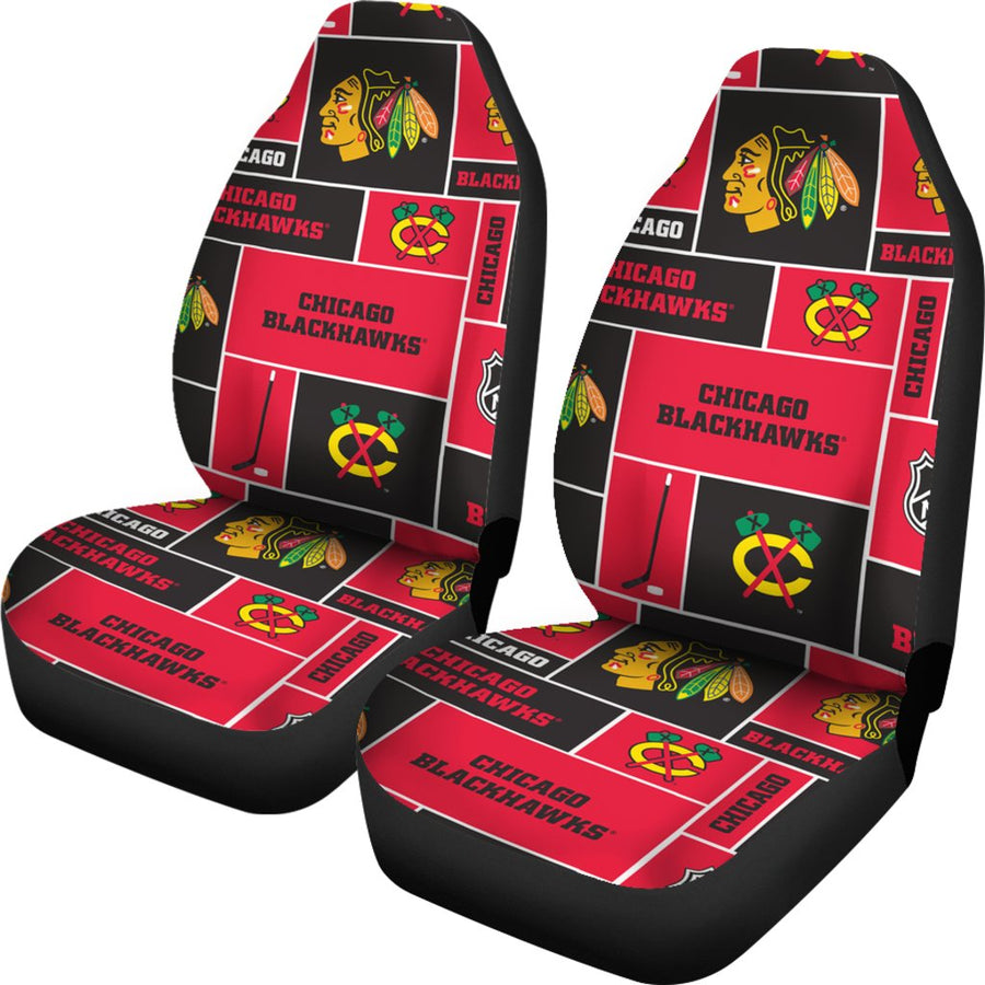 Chicago Blackhawks #1 - Car Seat Covers - MyStorify