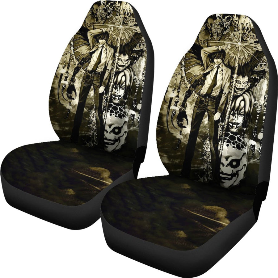 Death Note (2 Styles) - Car Seat Covers (2pc Set)-MyStorify