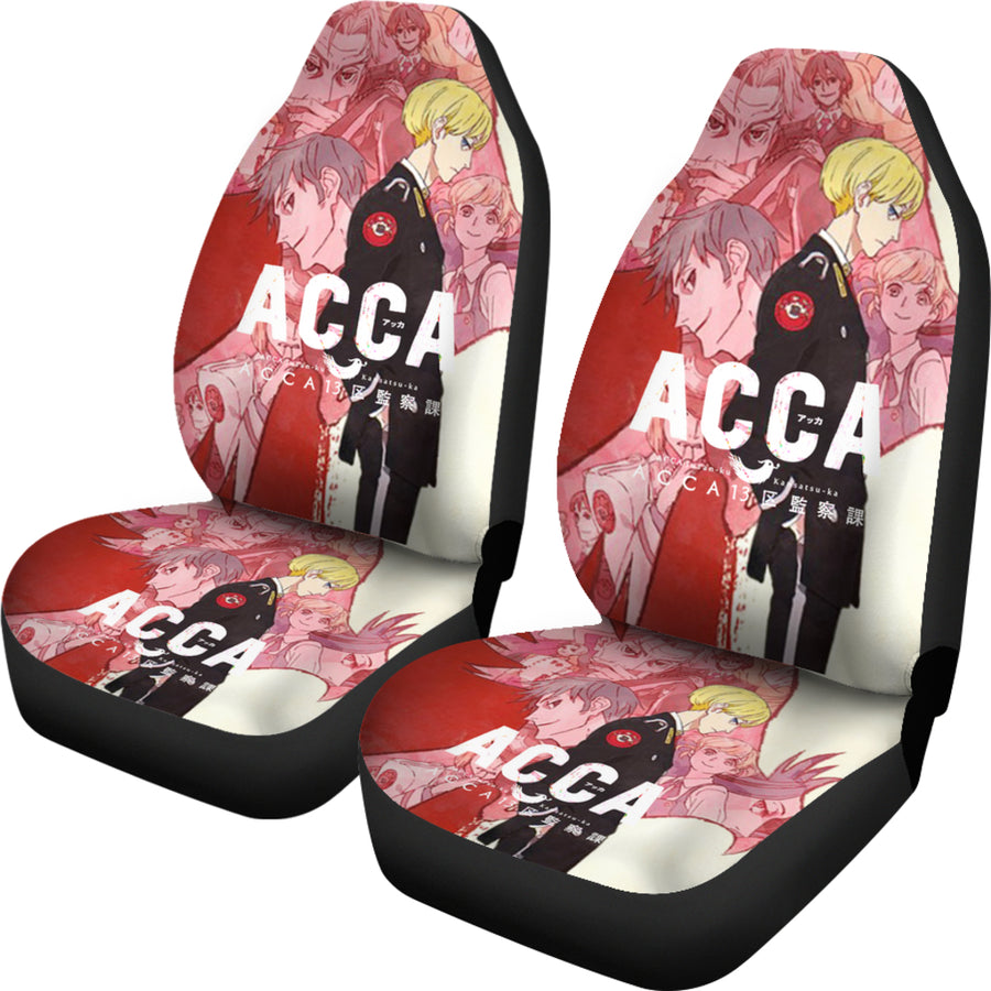ACCA: 13-Territory Inspection Dept. - Car Seat Covers (2pc Set)