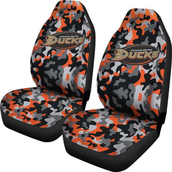 Anaheim Ducks (3 Styles) - Car Seat Covers (2pc Set)